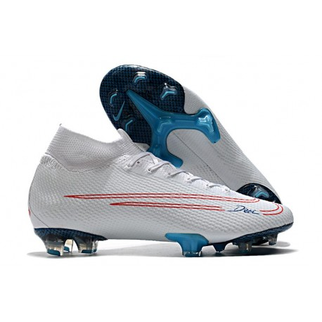 Nike Mercurial CR7 x Bugatti Superfly 7 Elite FG ACC Blanc Rouge