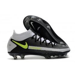 Chaussures Nike Phantom Gt Elite Df Fg Noir Gris