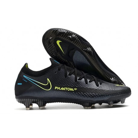 Crampon Nouveaux Nike Phantom GT Elite FG Noir Vert