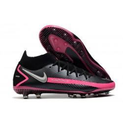 Nike Crampons Phantom GT Elite AG-Pro Noir Argent Rose
