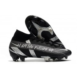 Nike Mercurial Superfly VII Elite DF FG Noir Argent