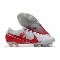 Crampon Nike Mercurial Vapor 13 Elite FG LFC Blanc Rouge