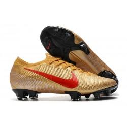 Crampon Nike Mercurial Vapor 13 Elite FG Or Rouge