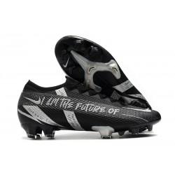 Crampon Nike Mercurial Vapor 13 Elite FG Noir Argent
