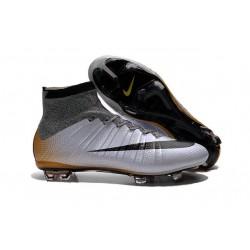 Meilleure Chaussures Nouveau Nike Mercurial Superfly CR7 324K Gold Gris Orange