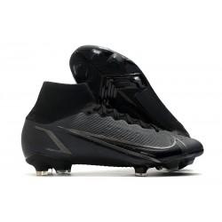 Nike Mercurial Superfly 8 Elite FG Crampons Noir
