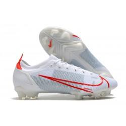 Nike Mercurial Vapor 14 Elite FG Chaussures Blanc Rouge