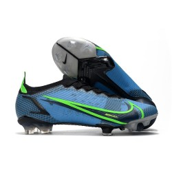 Nike Mercurial Vapor XIV Elite FG Bleu Noir