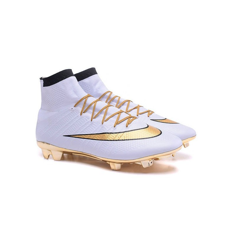Mercurial Crampons Fg Acc Football Or Superfly Blanc 2016 Nouvelles Nike JK1cFl