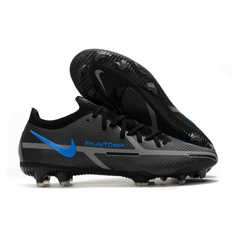 Crampon Nike Phantom GT2 Elite FG Noir Gris Acier